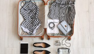 Fare valigia con metodo Marie Kondo
