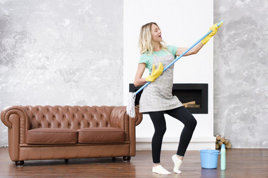 Pulire casa velocemente consigli